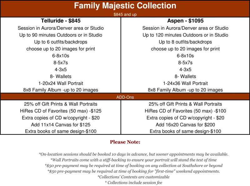 The Majestic Collection is for the most discriminating customers.