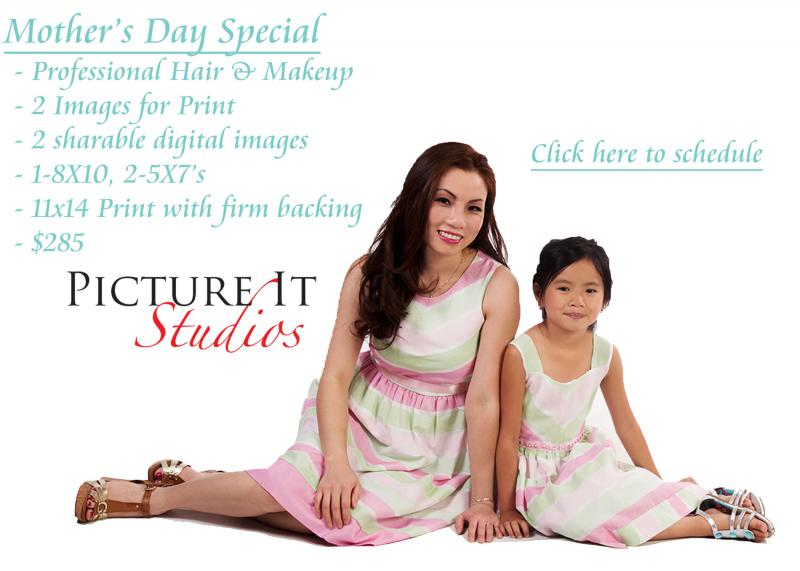 Mother's Day Portrait Package