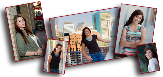 Downtown Denver promises edgy scenes for your Senior Portrait.