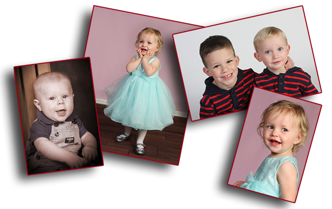 kids gift prints portrait children babies smiles